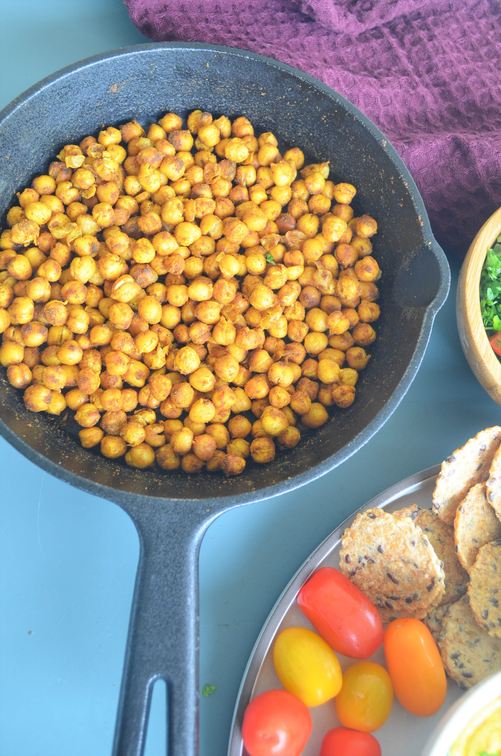 Spiced Toasted Chickpea