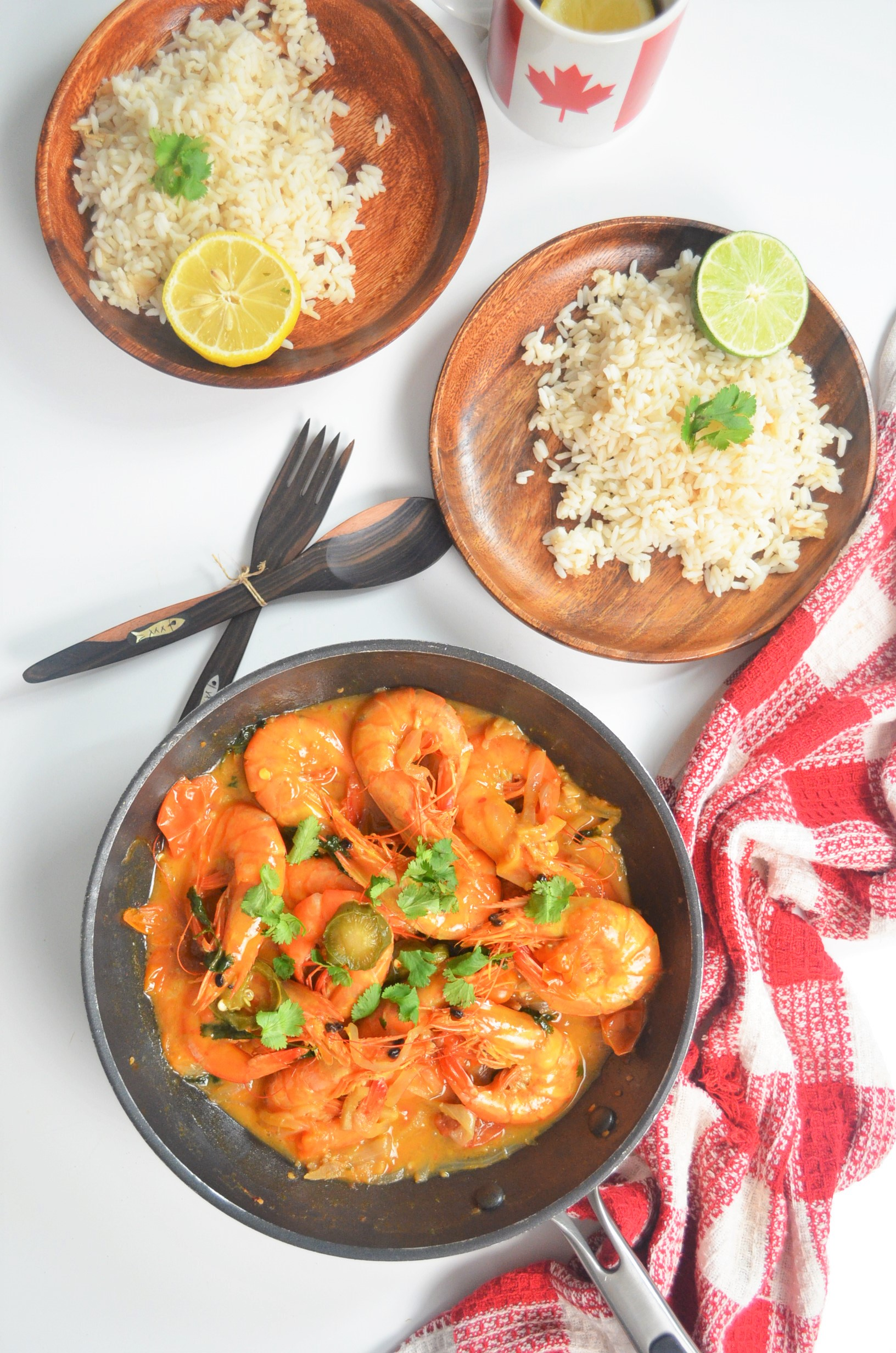 Spicy Shrimp in Coconut Sauce