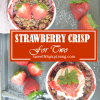 Strawberry Crisp For Two2