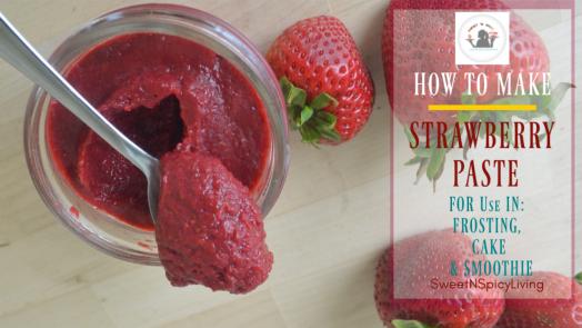 Strawberry Paste