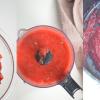 Strawberry Paste Collage