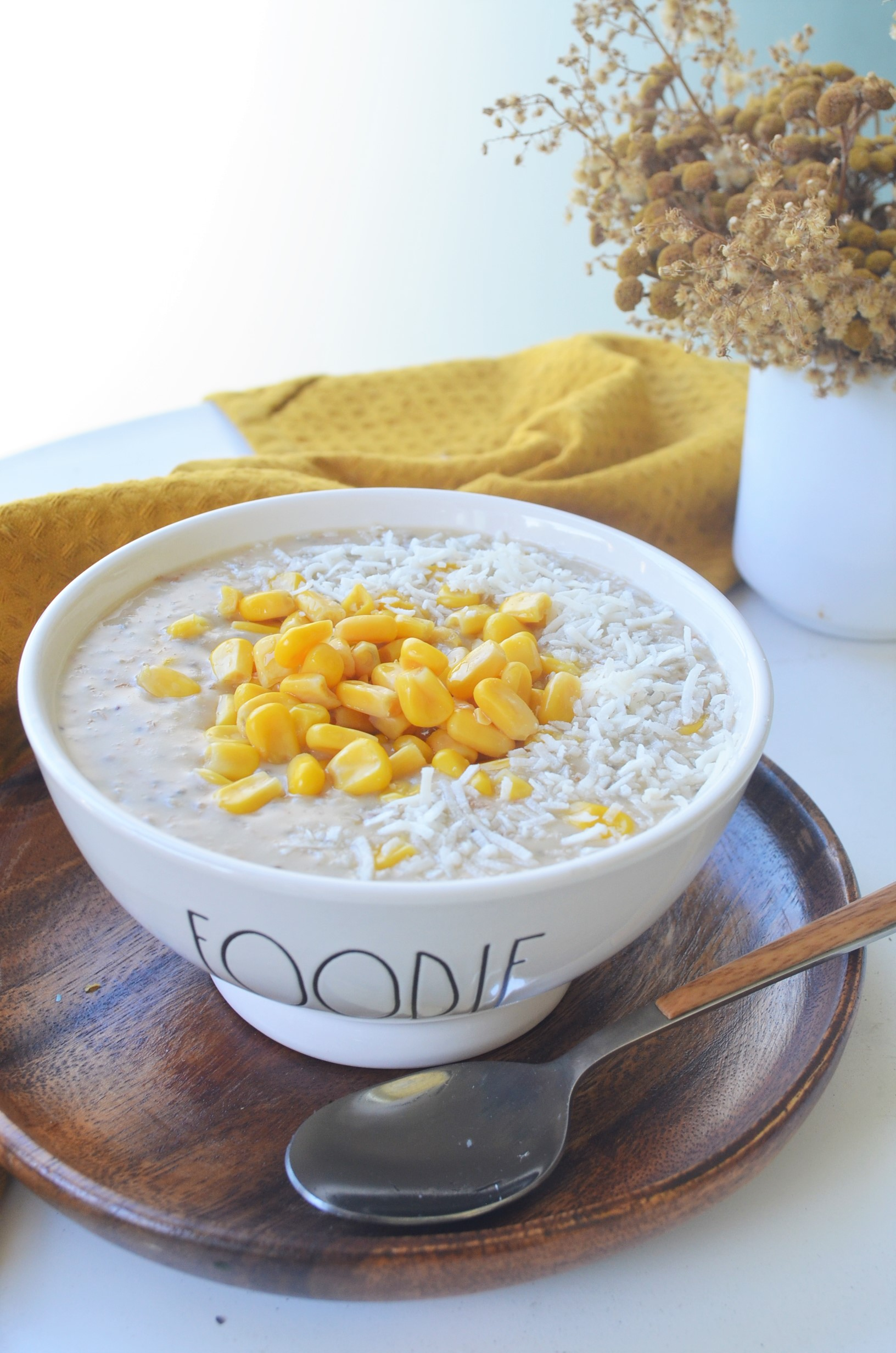 Sweet Corn Oatmeal