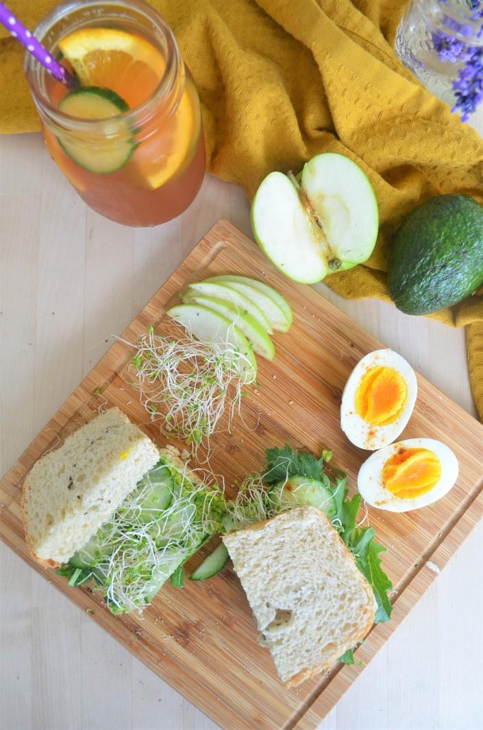 Avocado Green Goddess Sandwich By SweetNSpicyLiving