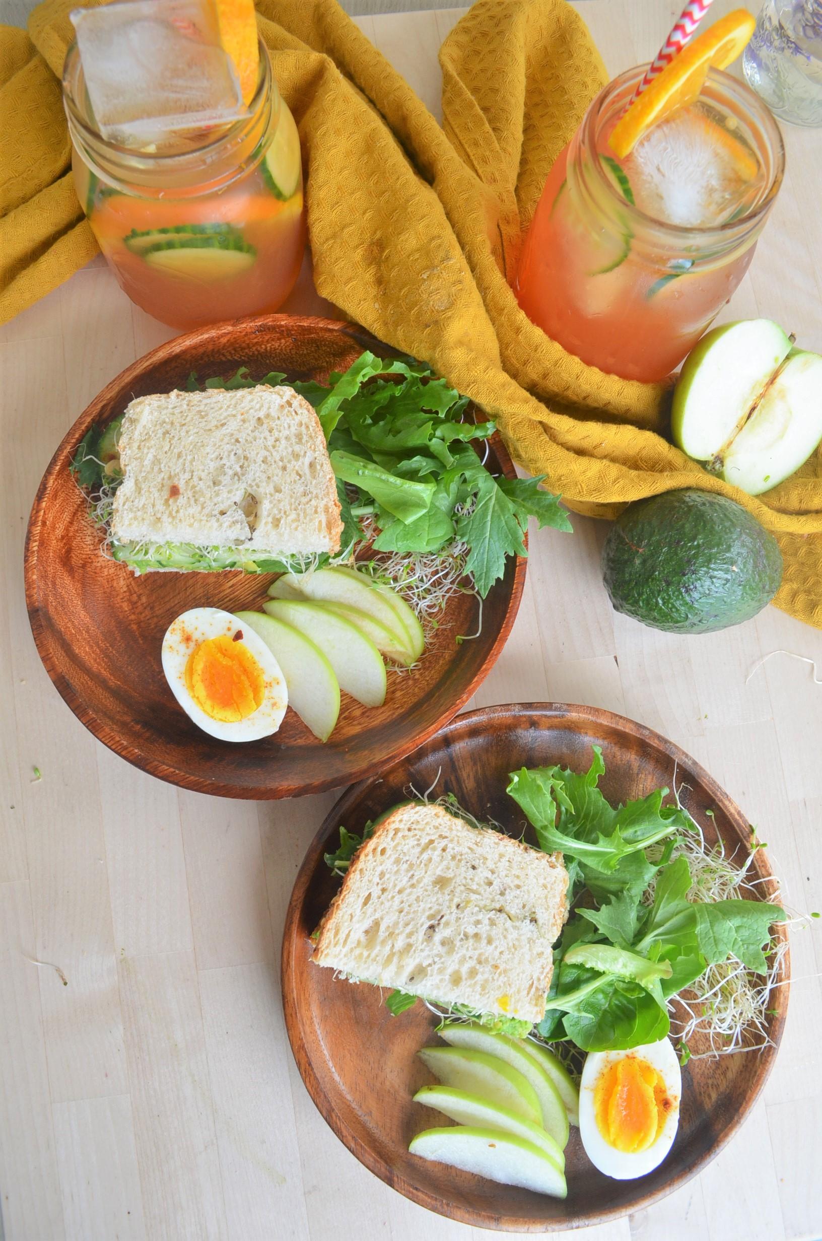 Avocado Green Goddess Sandwich