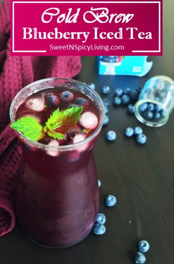 Bluberry Cold Brew Iced Tea 4