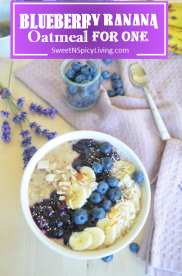 Blueberry Banana Oatmeal 2