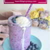 Blueberry Ice Cream Float2