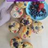 Blueberry Strawberry Muffin