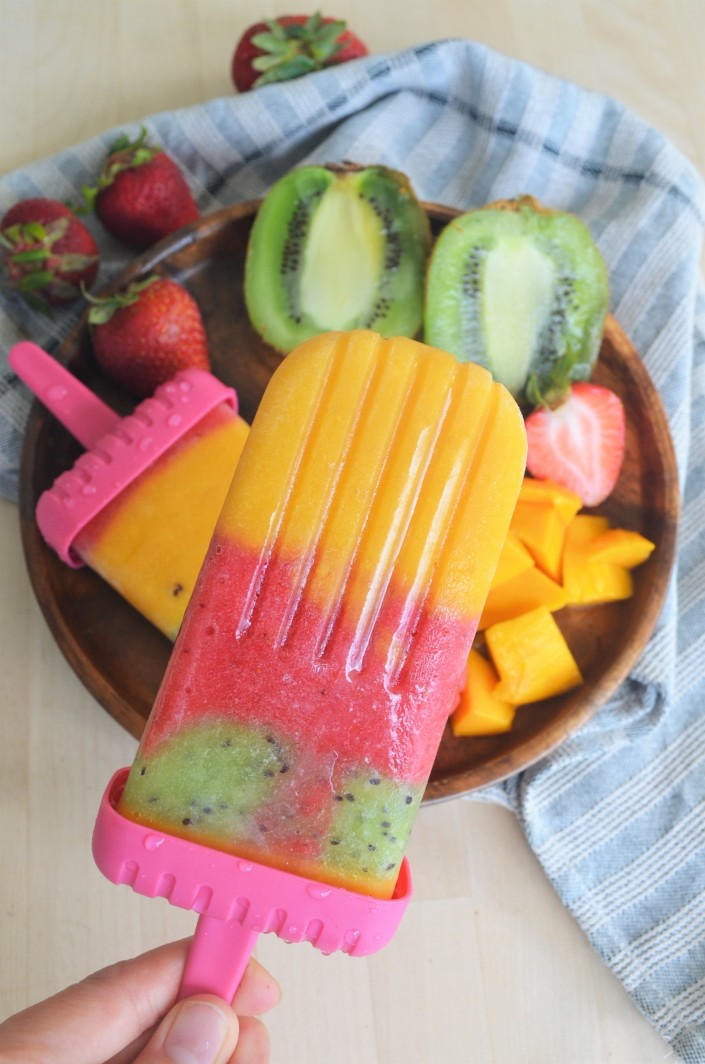 Dairy Free Fruit Popsicle