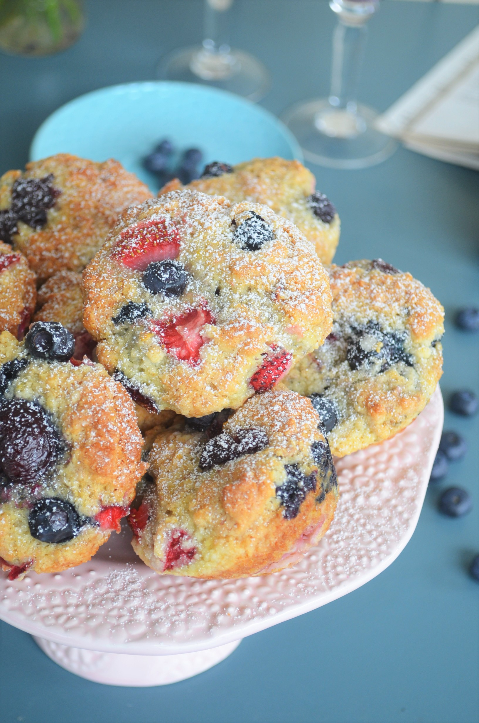 Fruit Explosion Muffin