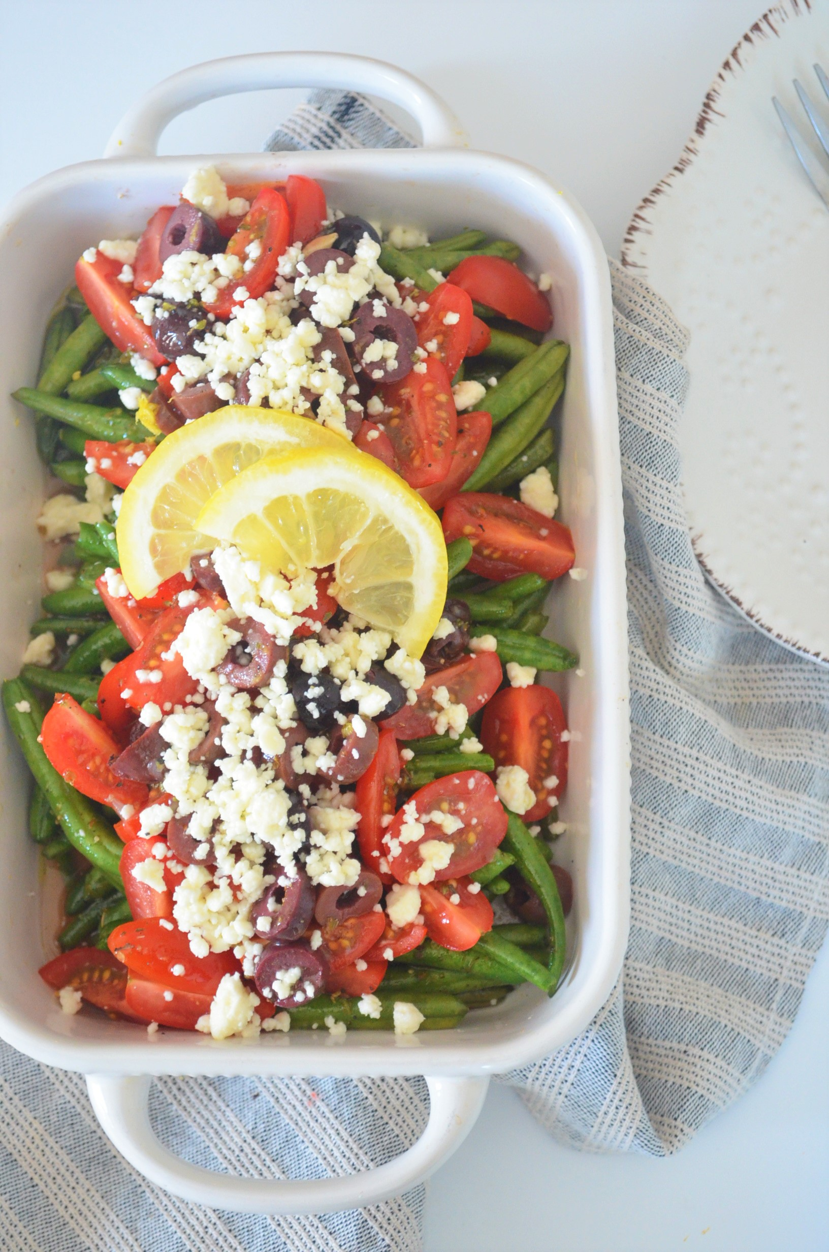 Greek Green Beans Salad