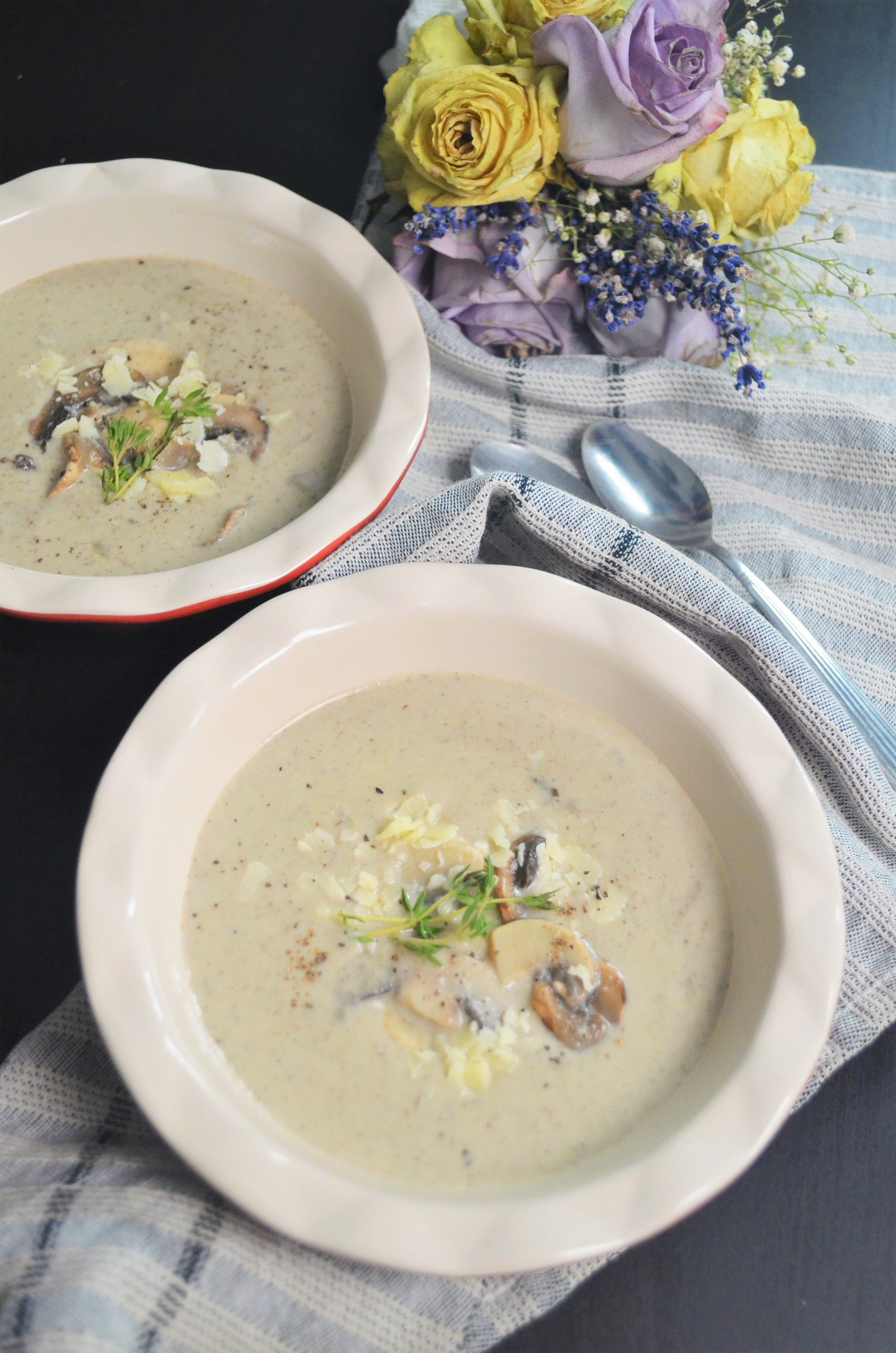 Mushroom Soup For Two