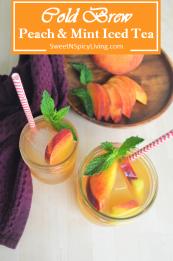 Peach Cold Brew Tea 2