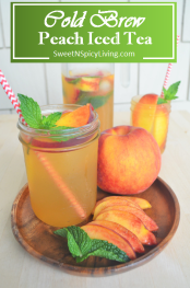 Peach Cold Brew Tea 5