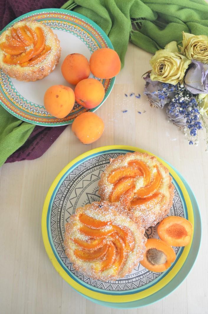 Small Batch Apricot Almond Tart