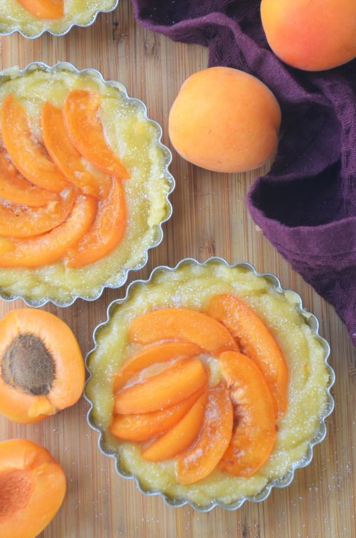 Small Batch Apricot Frangipane Tart