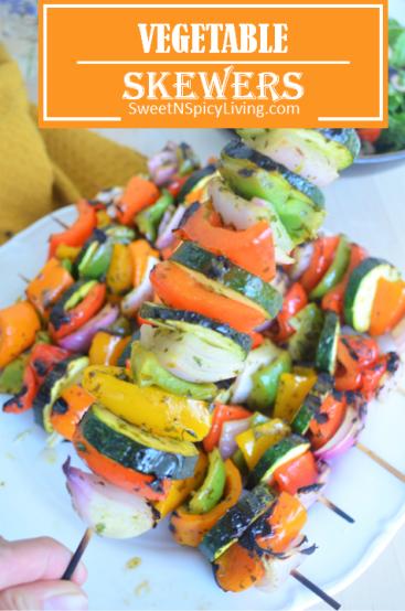Vegetable Kebabs 2