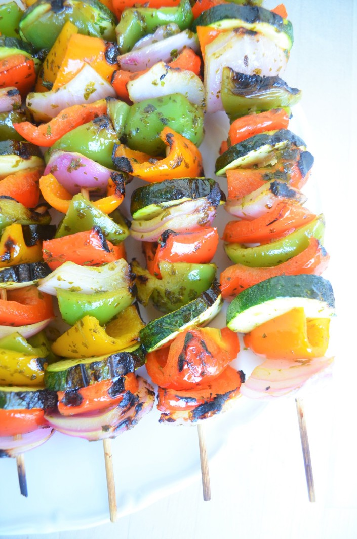 Vegetable Kebabs By SweetNSpicyLiving