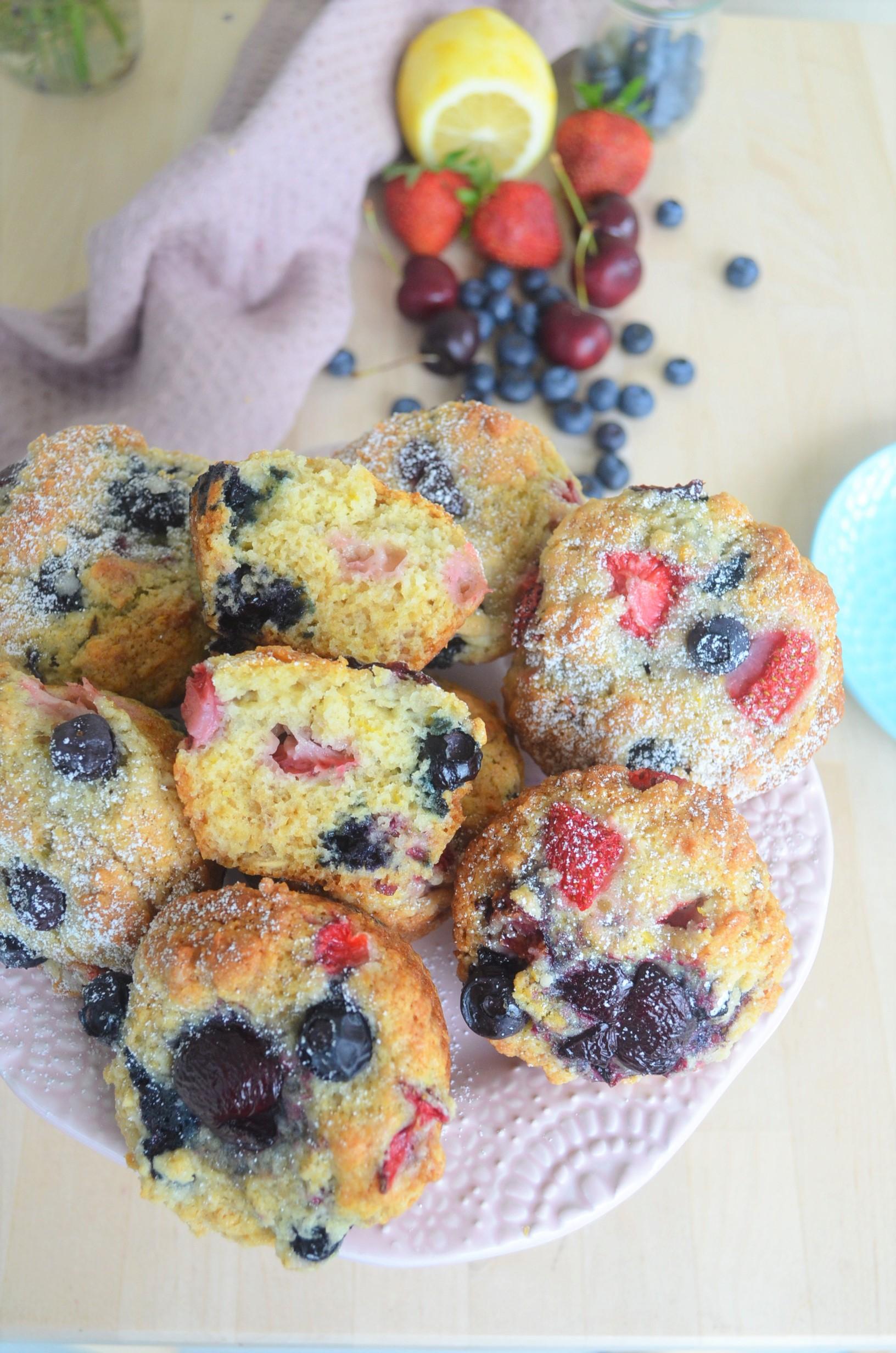 Very Bery Lemon Muffin