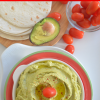 Avocado and CilantroHummus