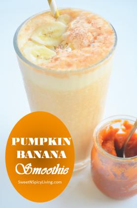 Banana Pumpkin Smoothie