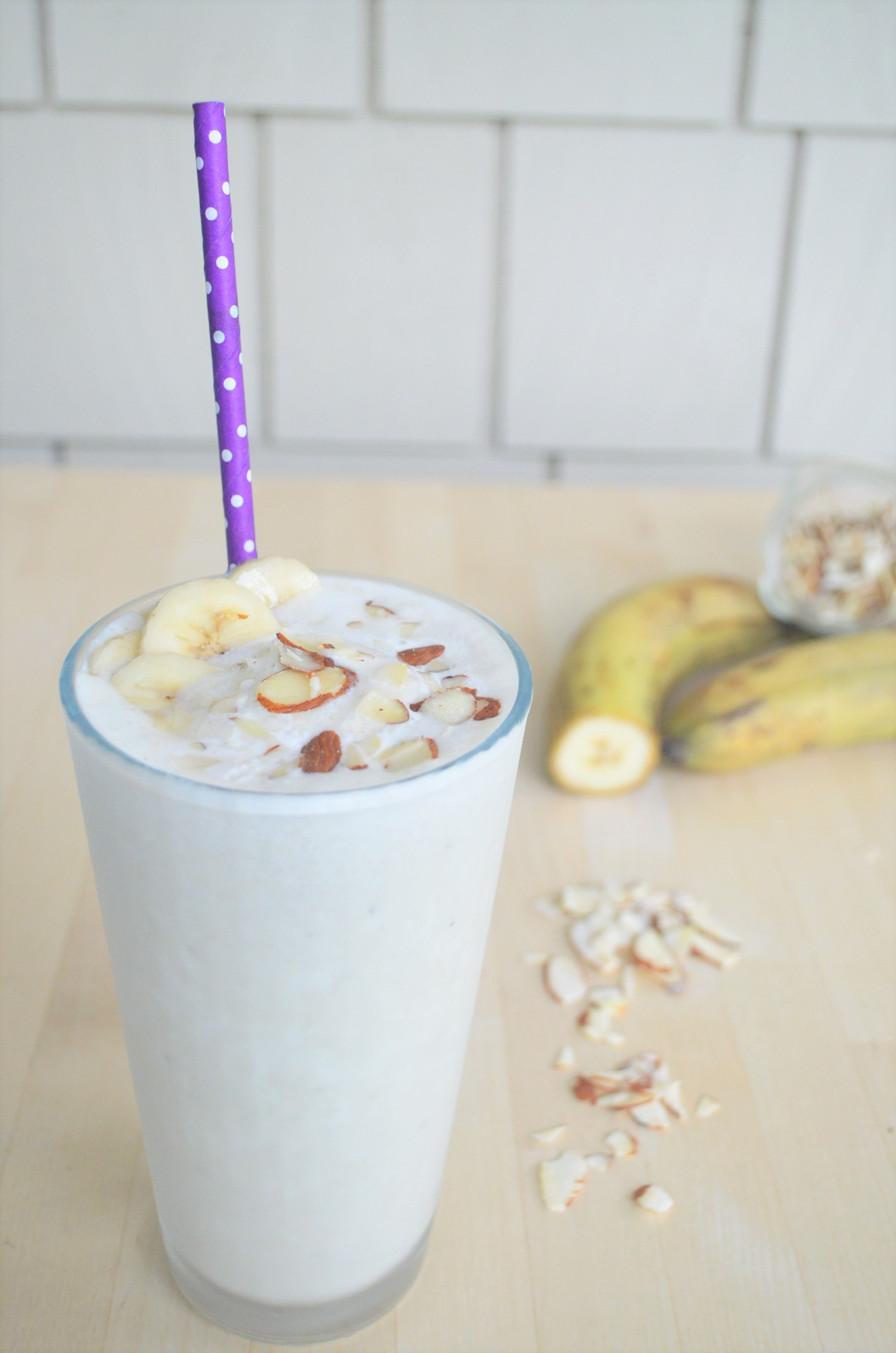 Banana Yogurt Smoothie For One