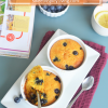 Blueberry and Pumpkin Muffin For Two4