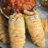 Cheese Stuffed Halloween JalapenoMummy