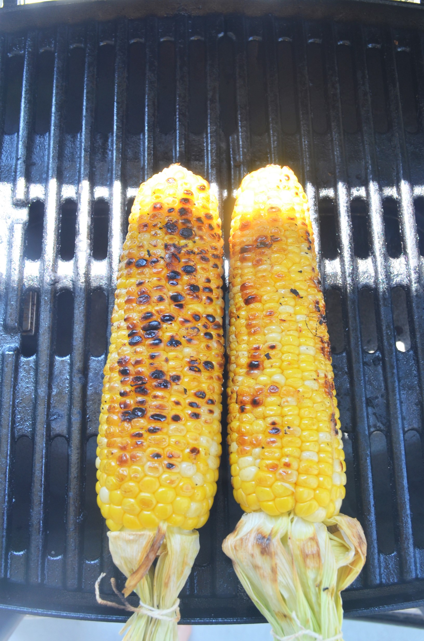 Mexican Street Corn with Cilantro Lime Mayonnaise