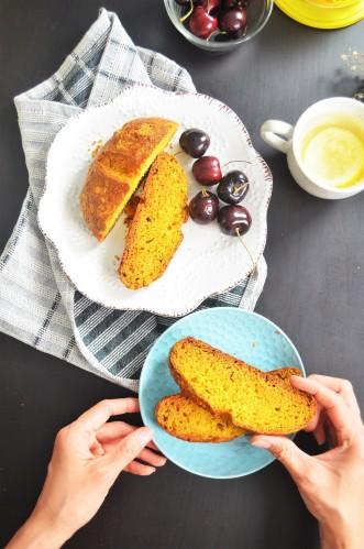 No Knead Pumpkin Soda Bread By SweetNSpicyLiving