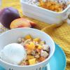 Peach and MangoCrisp