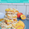 Peach Shortbread Oats CrumbBar