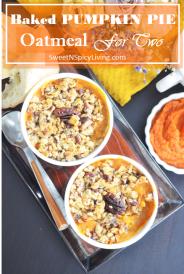 Pumpkin Oatmeal For Two 5