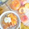 Single Serve Peaches and Cream PeachOatmeal