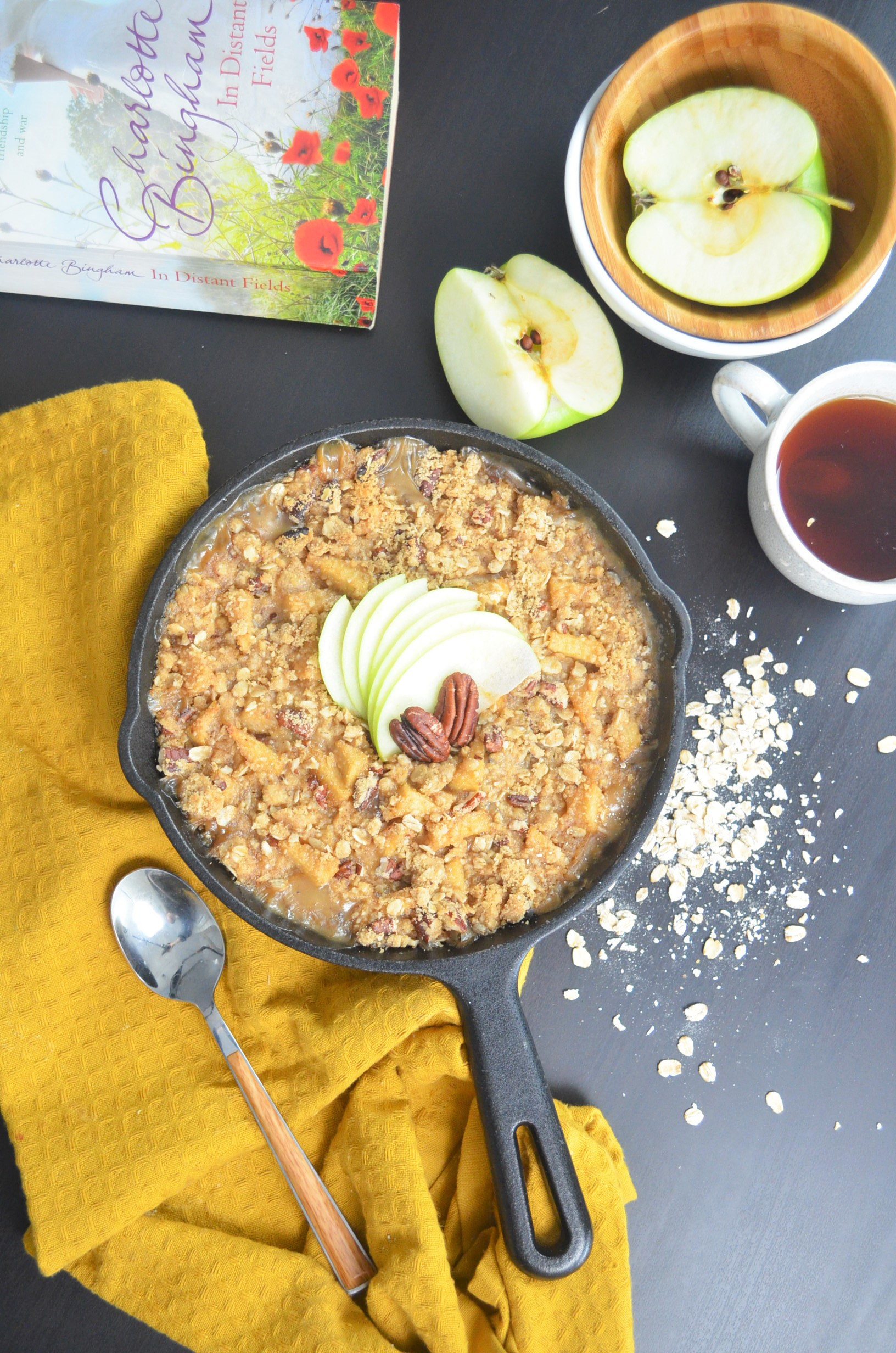 Small Batch Baked Apple Cinnamon Oatmeal By SweetNSpicyLiving