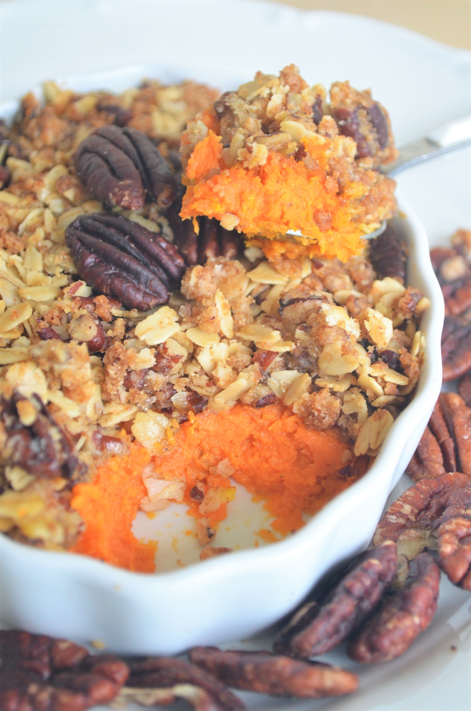 Small Batch Sweet Potato Casserole For Two