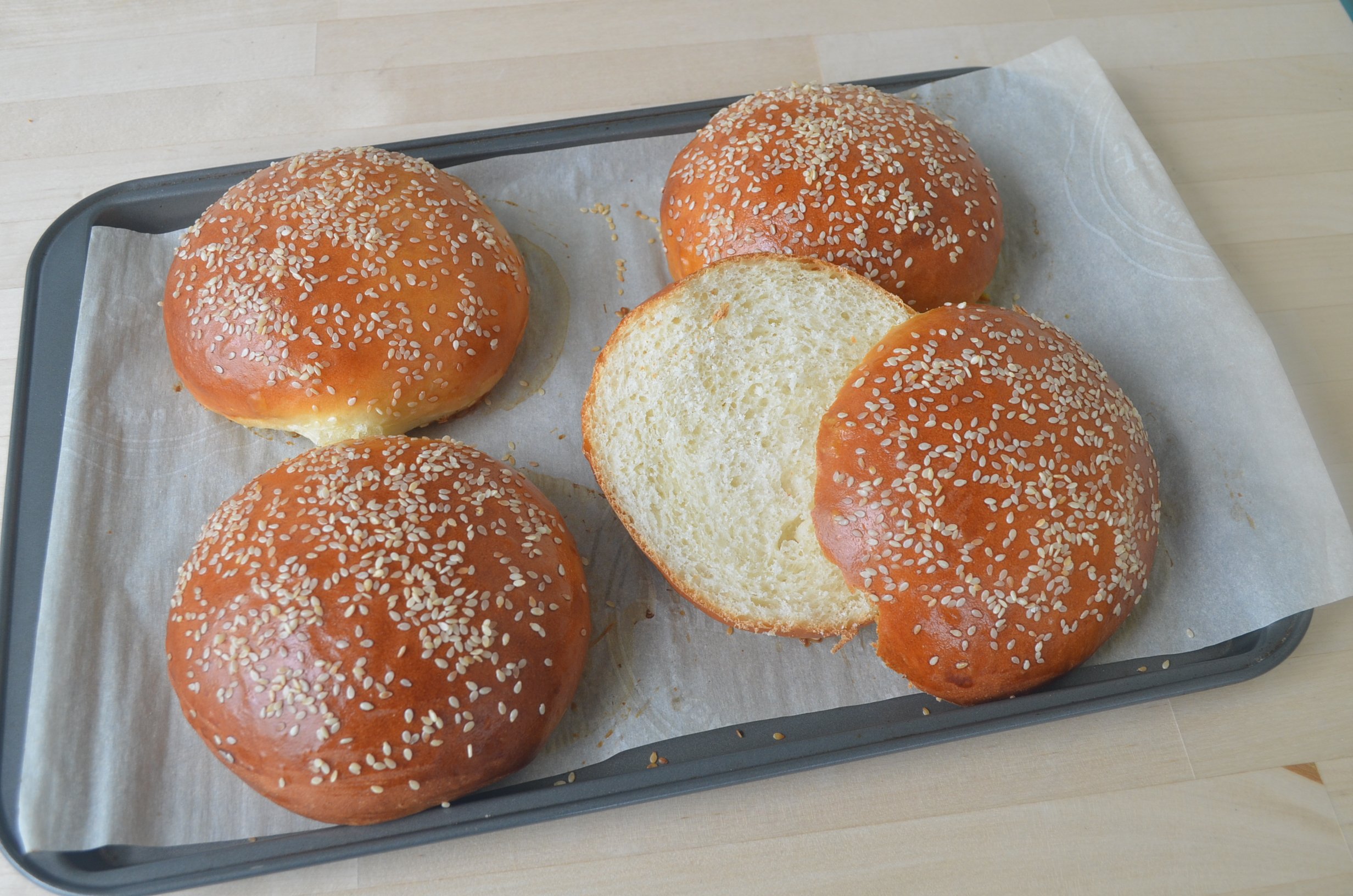 Soft and Fluffy Burger Buns