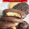Chocolate Dipped ShortbreadCookie