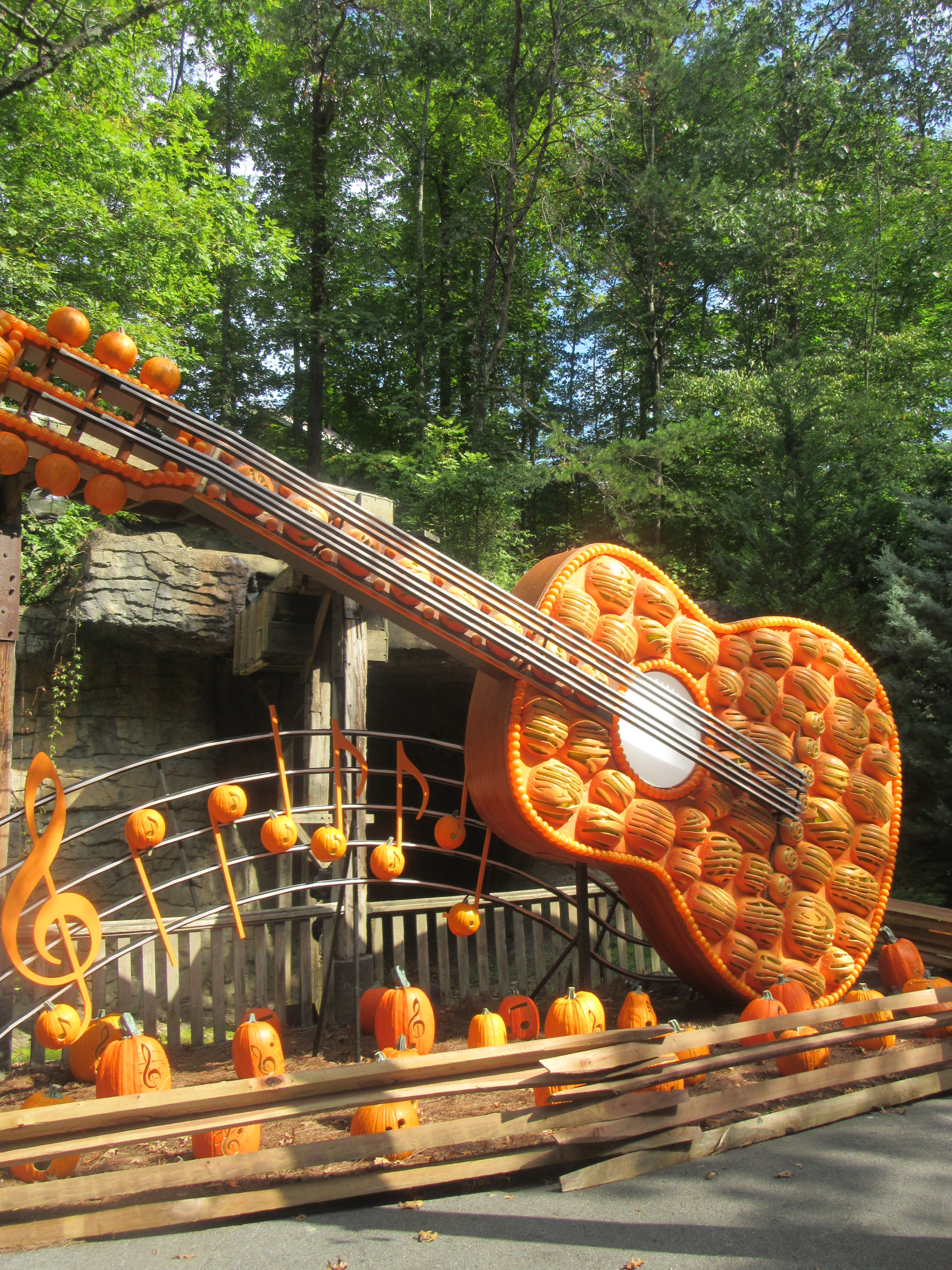 Dollywood Park Pegion Forge Tennessee USA