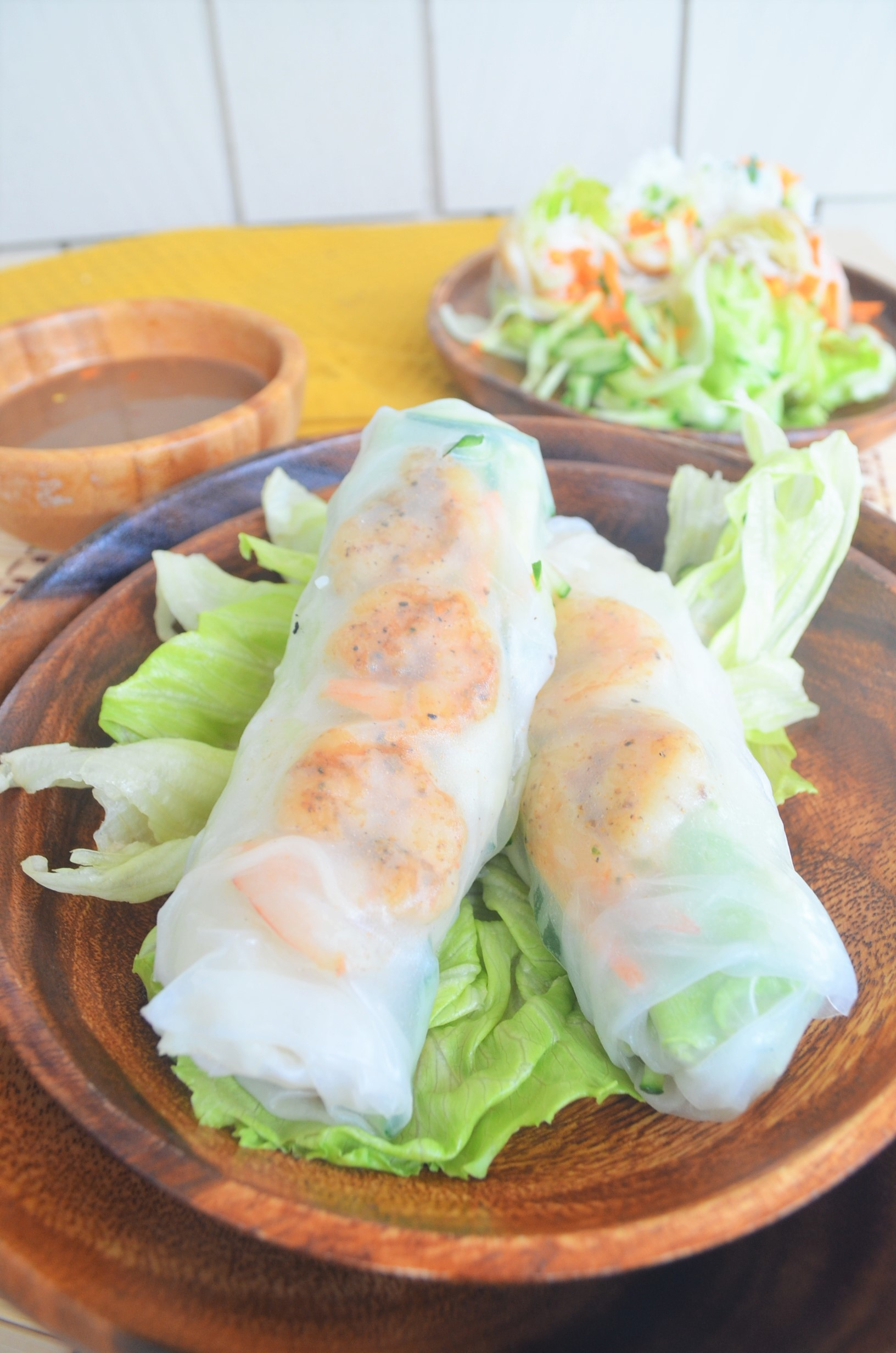 Vietnamese Spring Rolls For Two