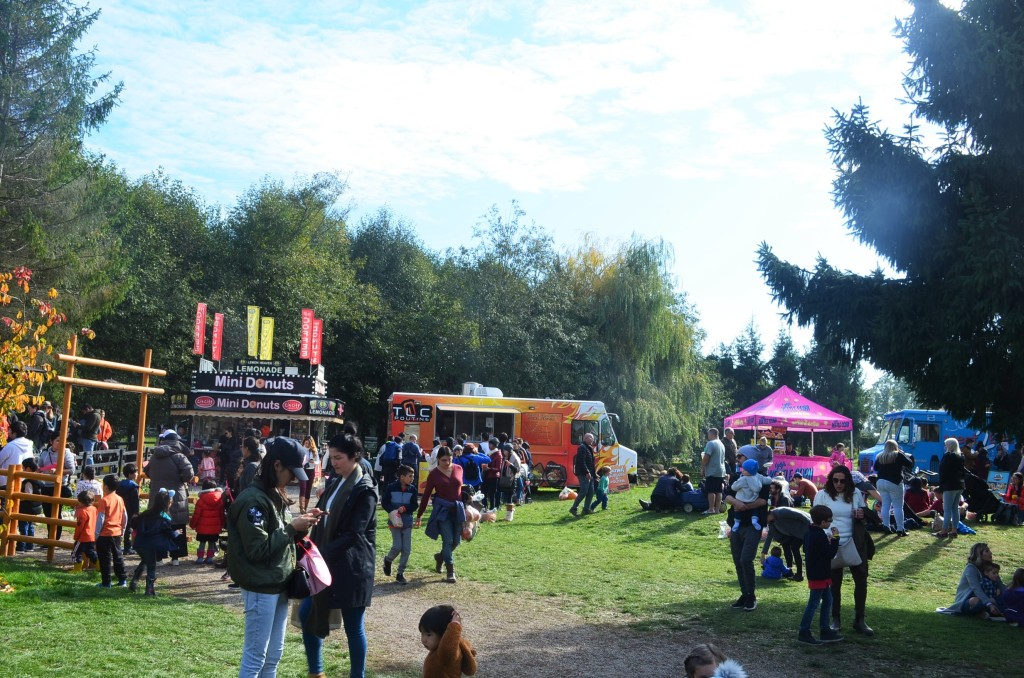Food Trucks at Pumpkin Patch in Richmond BC