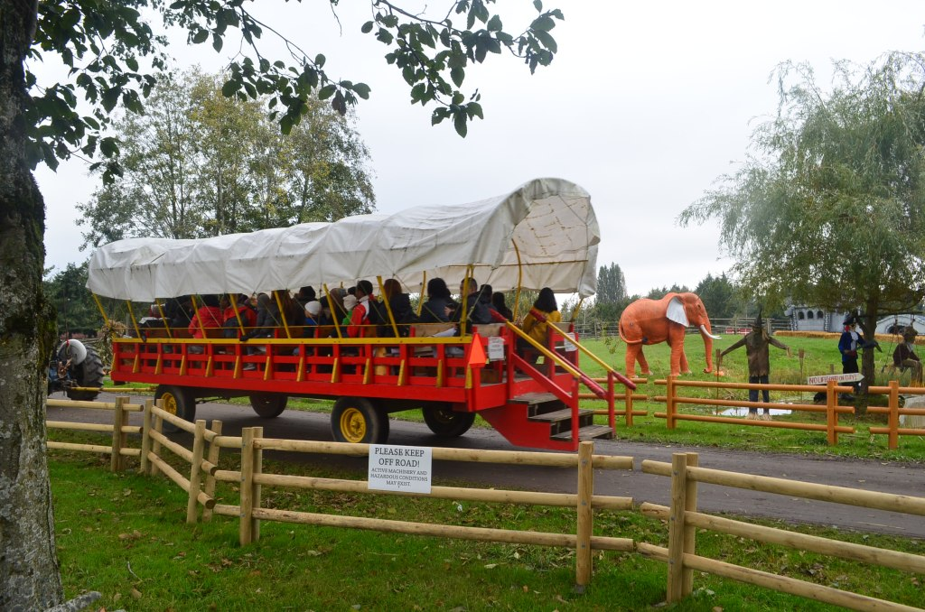 Wagon Ride to the Pumpkin Patch in Richmond BC