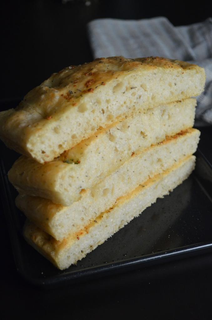 Garlic and Herb Foccacia Bread