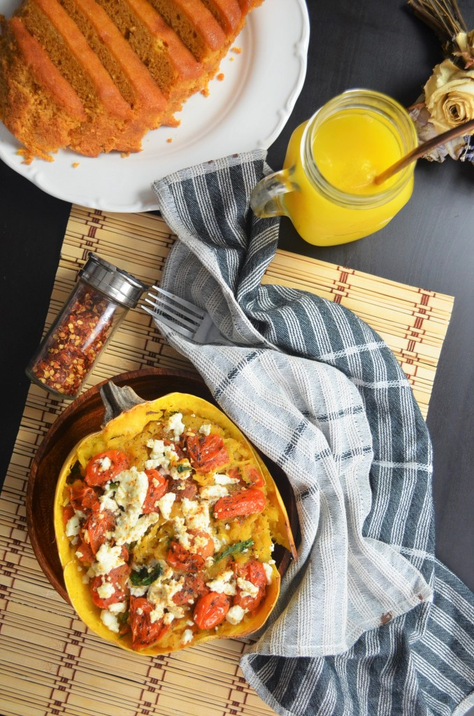 Caprese Spaghetti Squash For Two