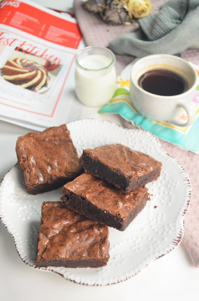 Homemade Fudgy Brownie