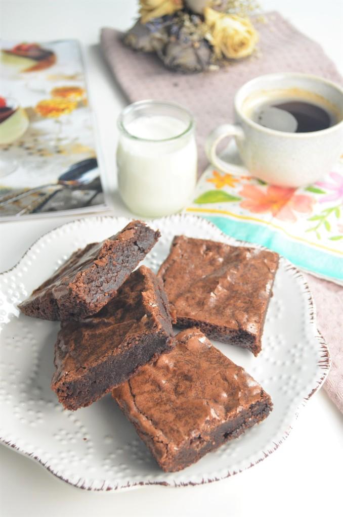 Small Batch Fudgy Brownie