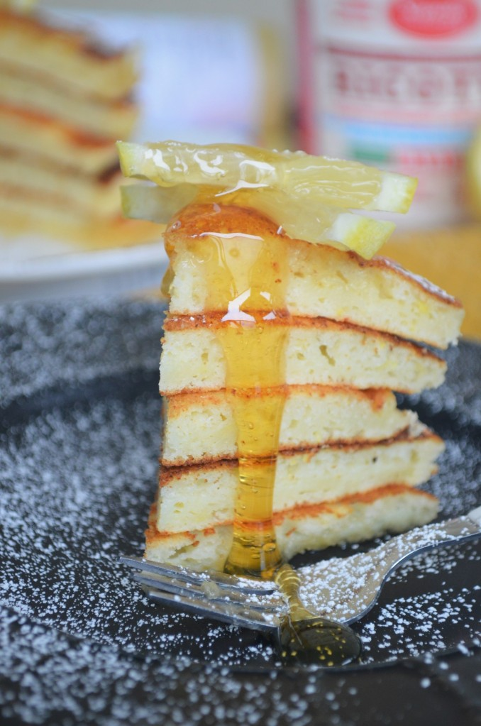 Buttermilk Lemon Ricotta Pancake