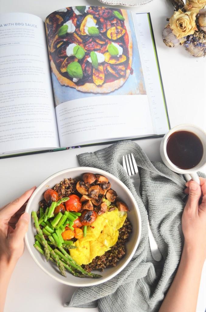 Savory Quinoa  Breakfast Bowl