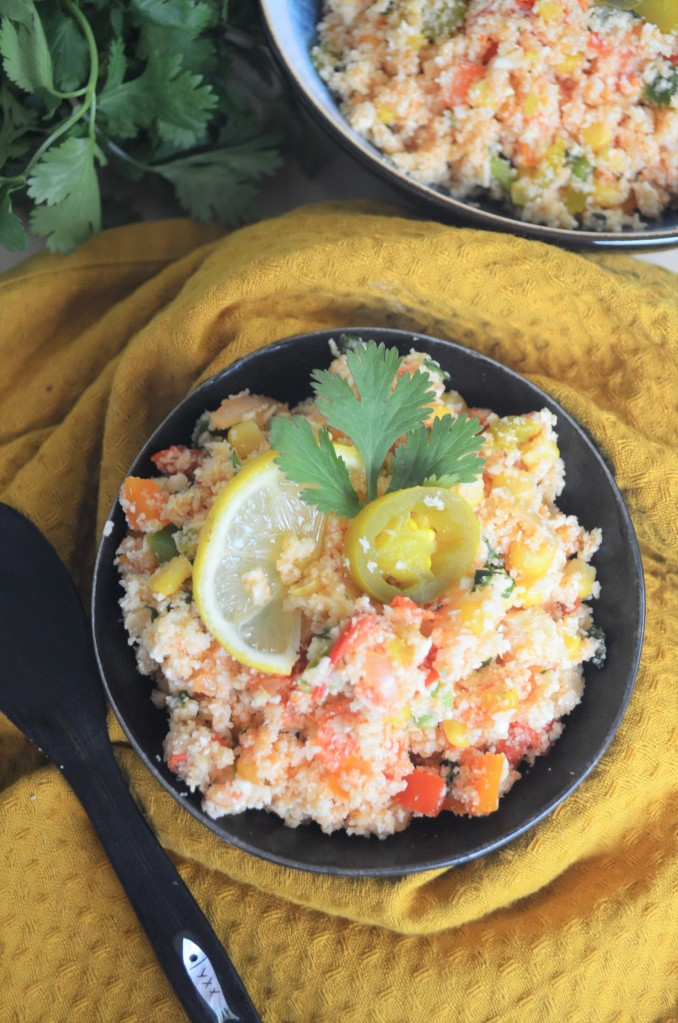 Mexican Cauliflower Fried Rice By SweetNSpicyLiving