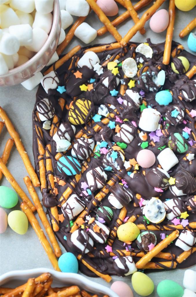 Easter Bark Chocolate
